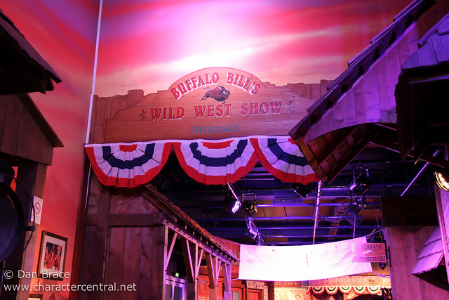 Buffalo Bill's Wild West Show with Mickey and Friends
