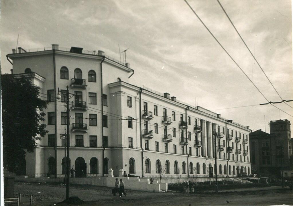 77_Жилой дом Водников на ул М.Горького_арх Щербочев П.А