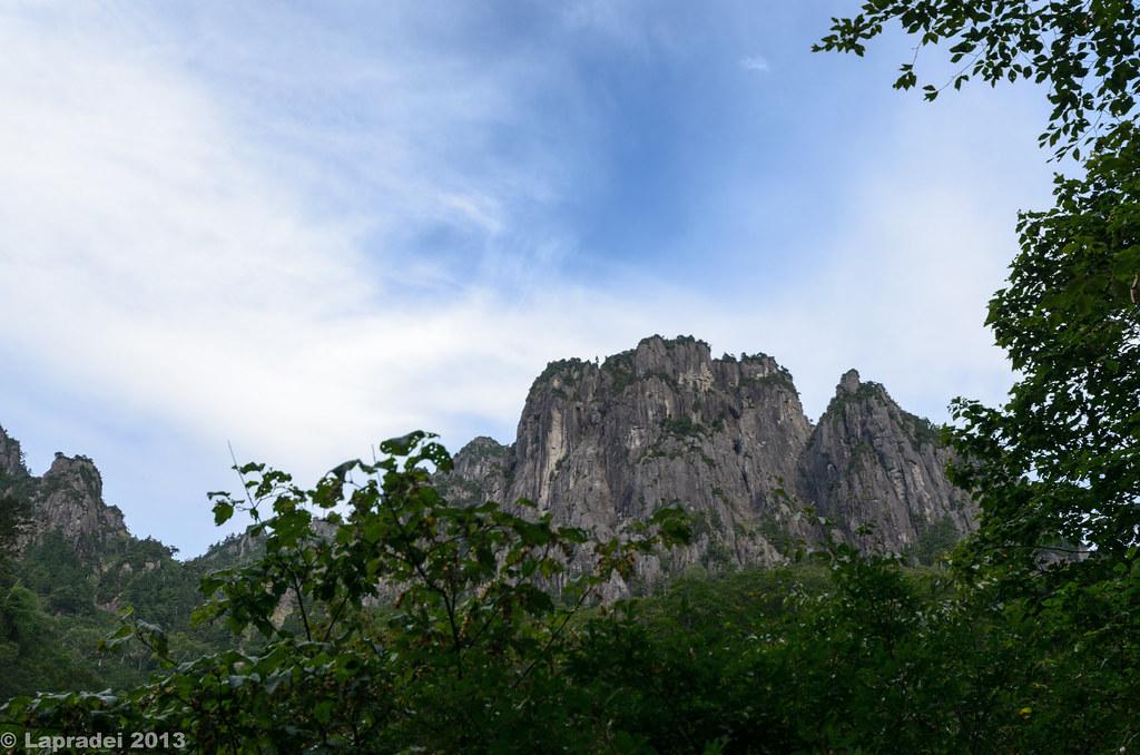 錫杖岳(烏帽子岩)