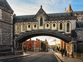 Christ Church Cathedral bridge, Dublin Ireland