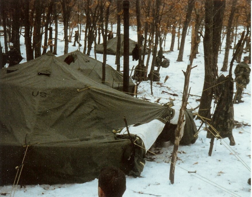 1989-01-31 Fort McCoy 10-man arctic tents & Flickr photos tagged 4thmeb | Picssr