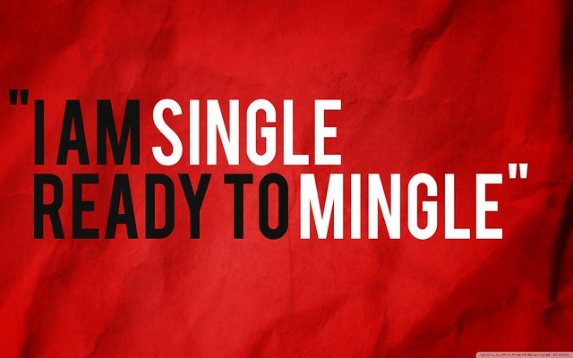 I am single ready to mingle wallpaper