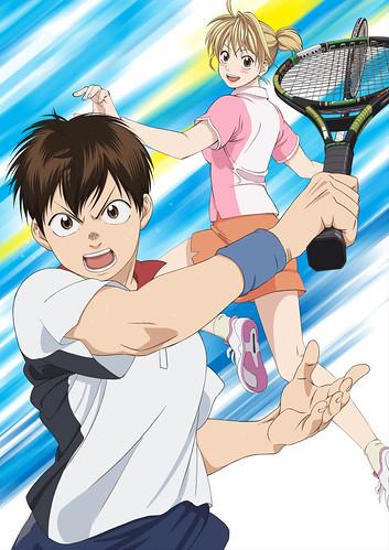 131113(1) – 女性漫畫家「勝木光」出道作《ベイビーステップ》(BABY STEPS ~網球優等生~)將在2014年春天放送動畫、海報公開!