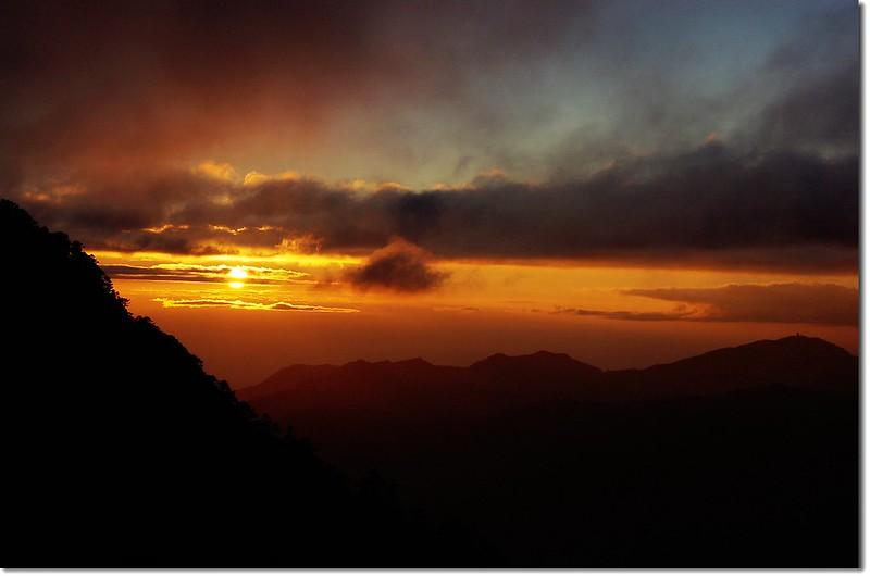 油婆蘭觀日落 1