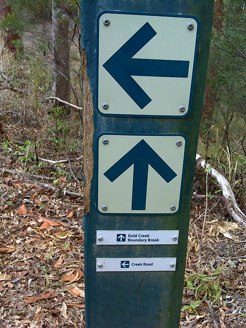 Trail Marker, D'Aguilar NP