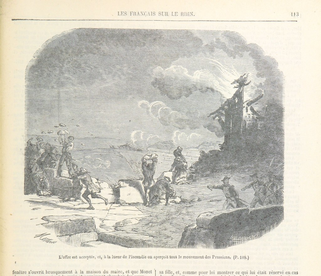 Image Taken From Page 121 Of Les Français Sur Le Rhin