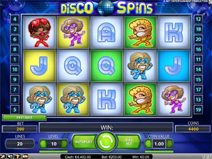 Disco Spins slot game online review