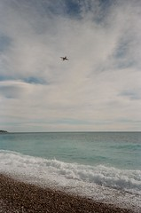 Plane in Nice