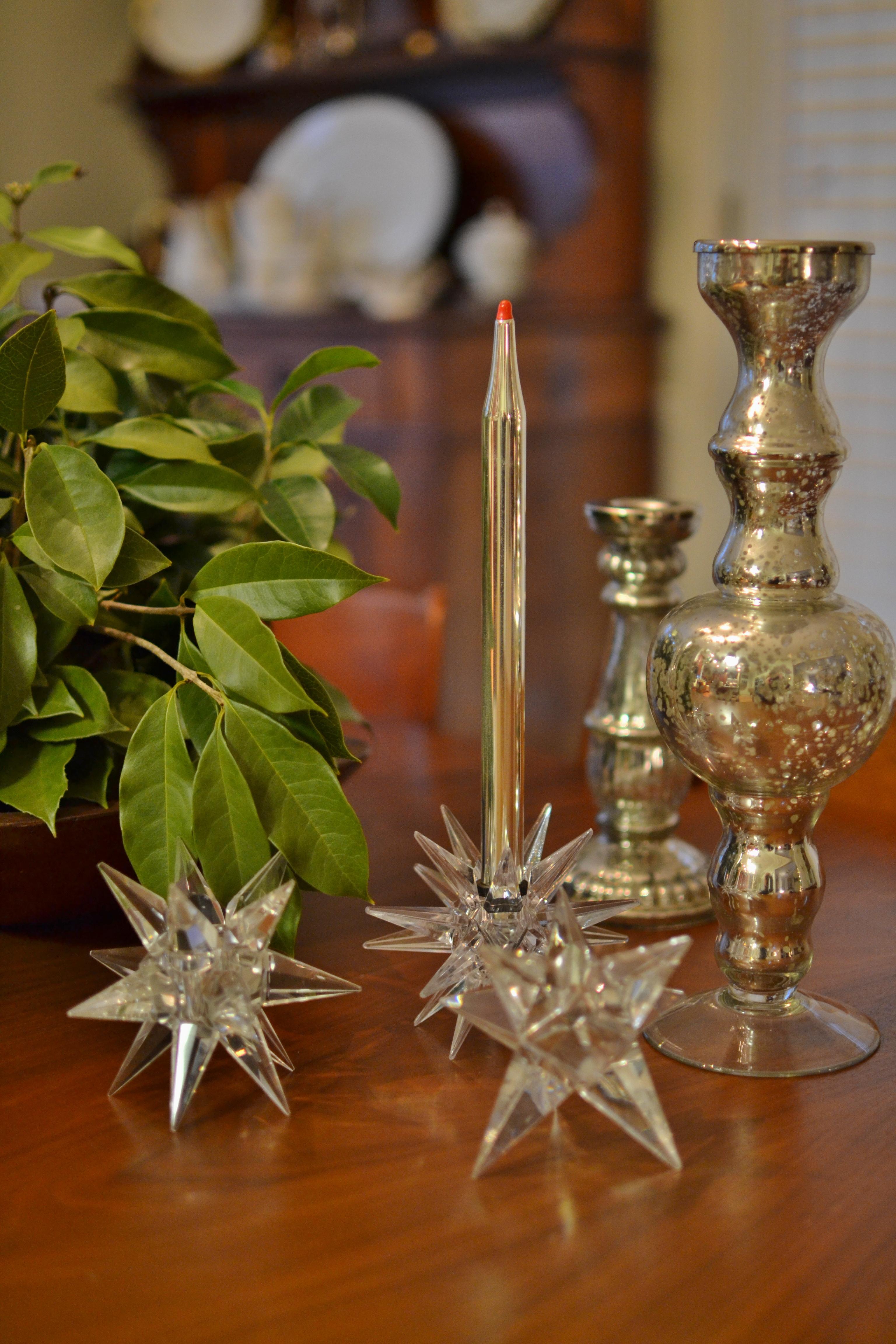 moravian star candlesticks