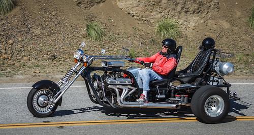 Custom V8 Trike