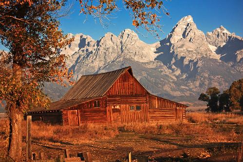 Grand Teton Mountains - Autumn