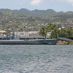 Submarine in Pearl Harbor, Oahu