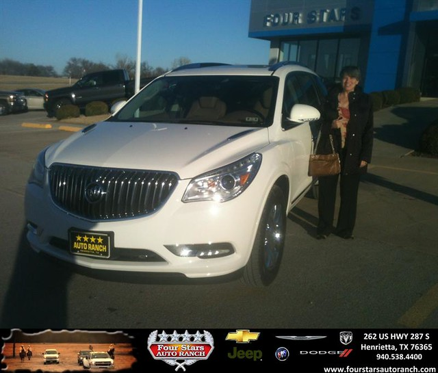 Thank You To Jacqueline Lammers On Your New 2014 #Buick
