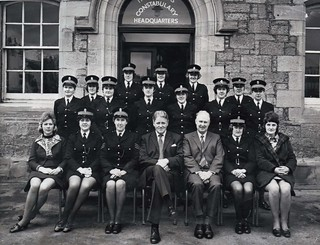 Inverness Constabulary female police officers - early 1973