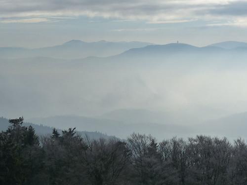 Novoroční výstup na Čerchov aneb Na nejvyšší bod Českého lesa cestou hraběcí