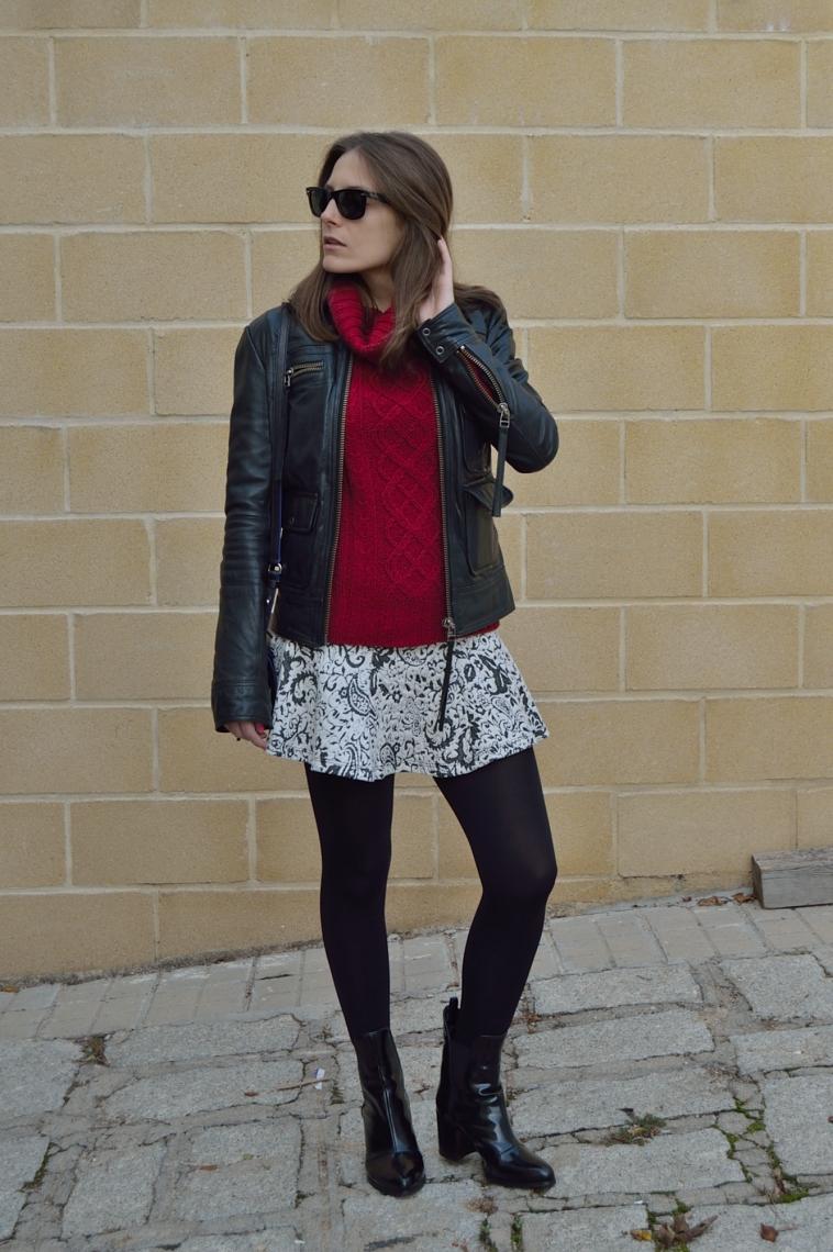 lara-vazquez-madlula-style-chic-skirt-biker-jacket-burgundy-black