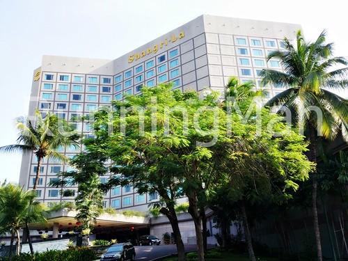 Shangri-La Hotel 01 - Exterior Facade