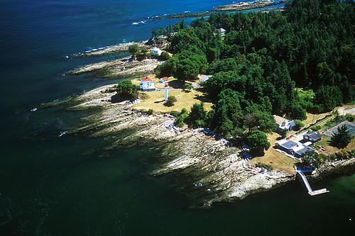Georgina Point Lighthouse, Mayne Island, Southern Gulf Islands, British Columbia