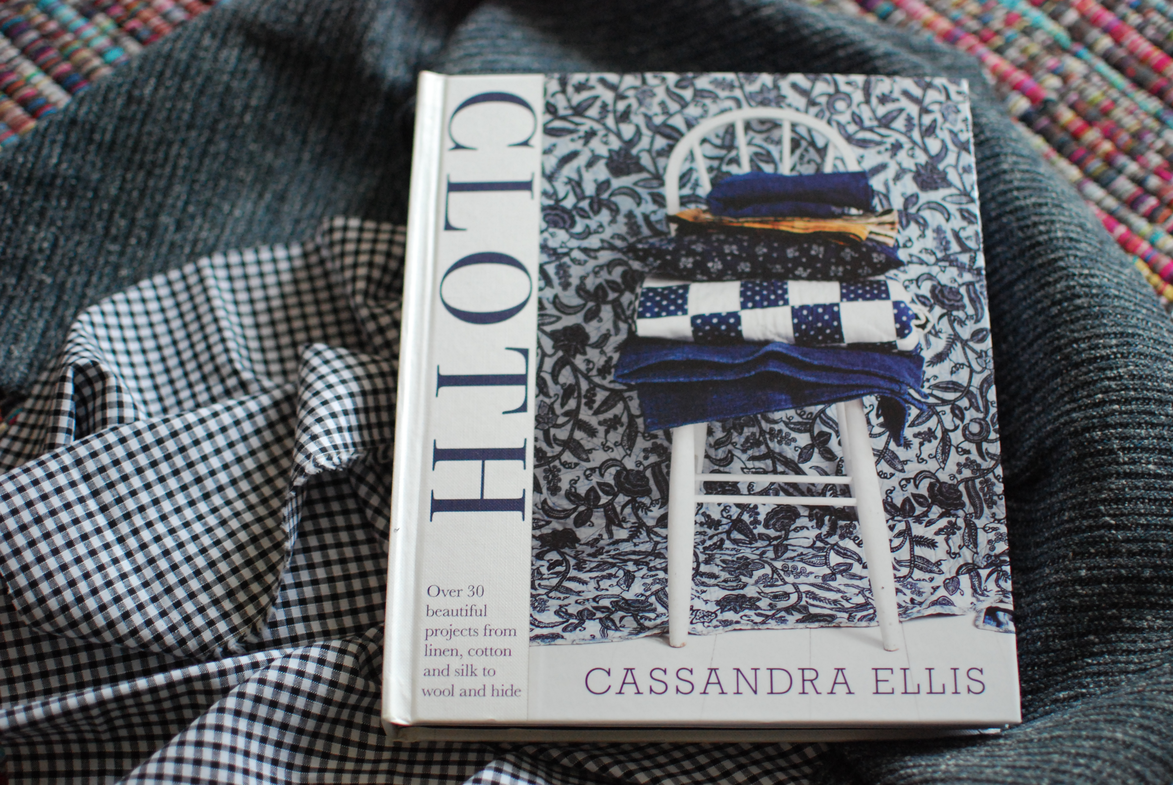 chambray and curls DIY inspiration book love Cloth Cassandra Ellis