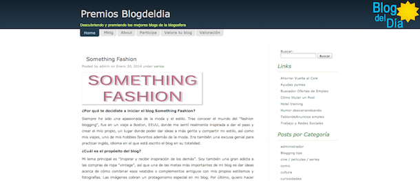 somethingfashion spanish fashionblogger, featured on, blog del día directory of blogs, interview