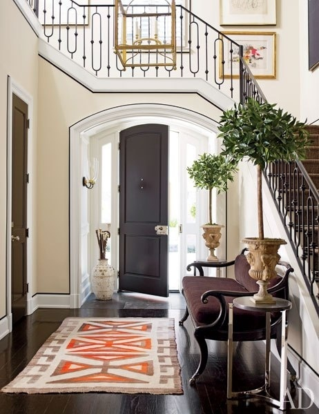 One of the top pinned images for the month of January was this beautiful entry designed by J. Randall Powers. The comment on the pin was u0027so thoughtfully ... & Things That Inspire: Architectural design: Stairs over the door