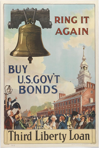Ring It Again/Buy U.S. Gov't Bonds/Third Liberty Loan
