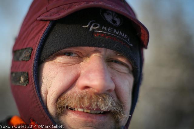 Allen Moore (c) Yukon Quest