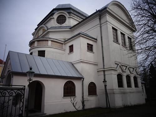 St. Pölten, Lower Austria (the art of historic buildings of Sankt Pölten), Sinagoga, Synagogue, Synagoga, Synagoge (Doktor-Karl-Renner-Promenade)