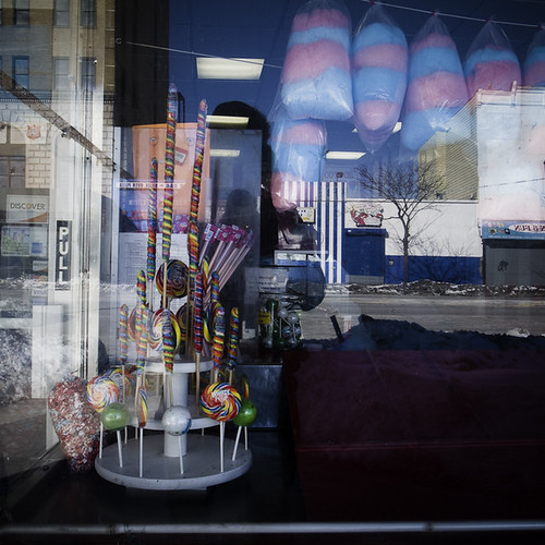 Snow Candy Reflection, Coney Island