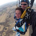 Loving life from 12,500 feet!