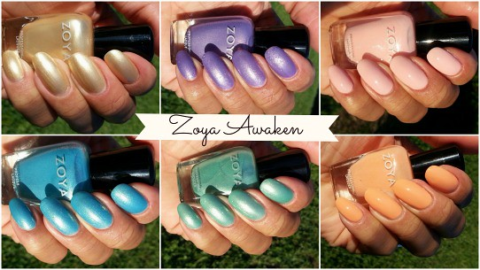 Zoya Awaken collection