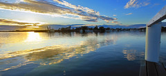 Yamba sunrise from jetty