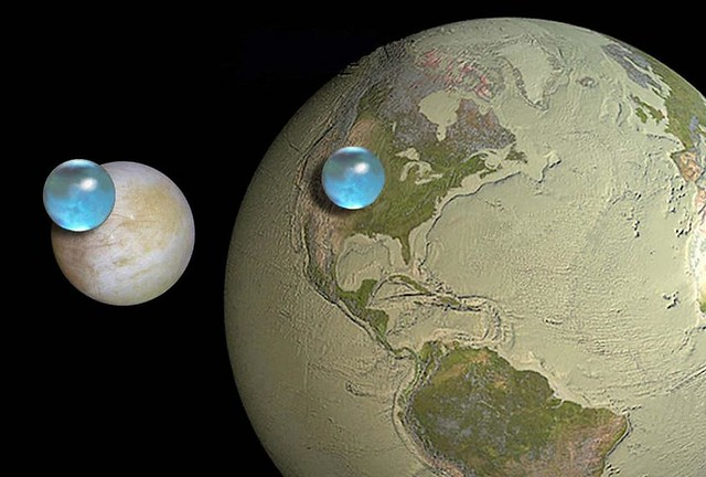 Water On Europa And Earth