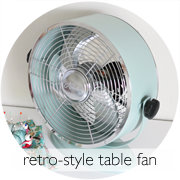 DIY Retro Painted Fan
