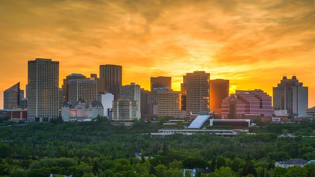 Edmonton Glow