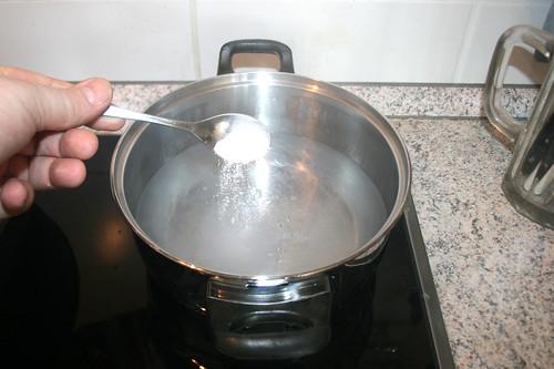 31 - Wasser salzen / Salt water