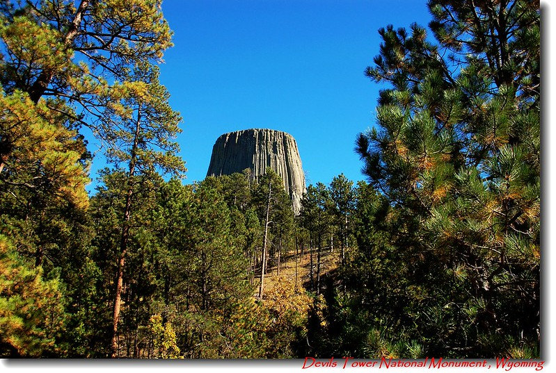 Devils Tower from camping ground