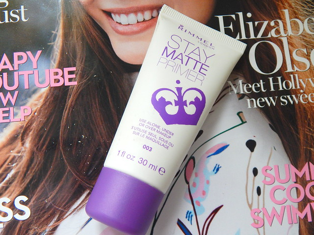 Rimmel Stay Matte Primer Review