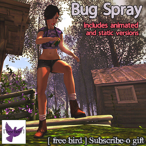 [ free bird ] Bug Spray Subscribe-o Gift