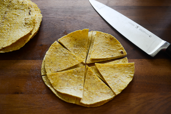 Homemade Tortilla Chips