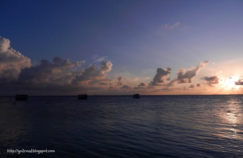 Закаты Мальдив