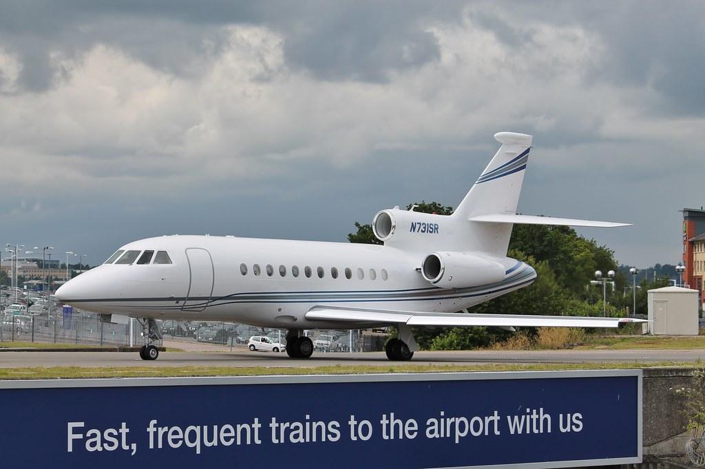 N731SR - F900 - Jet Charter