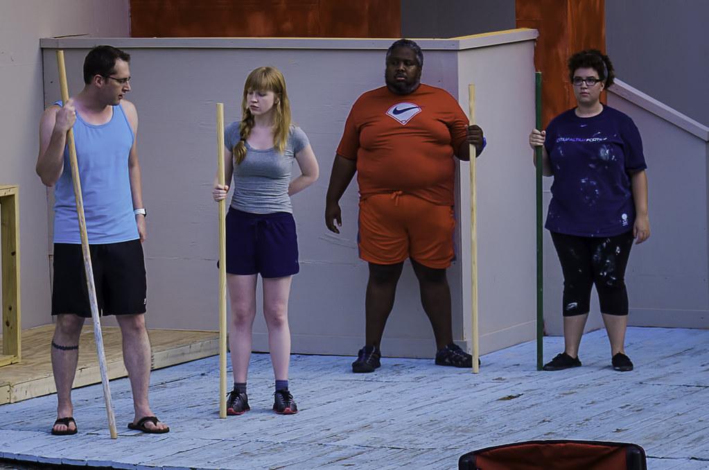 Antony and Cleopatra (rehearsal)