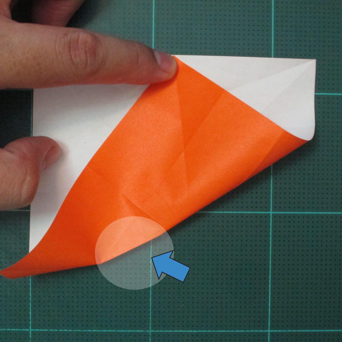 วิธีพับกระดาษเป็นที่คั่นหนังสือรูปผีเสื้อ (Origami Butterfly Bookmark) 011