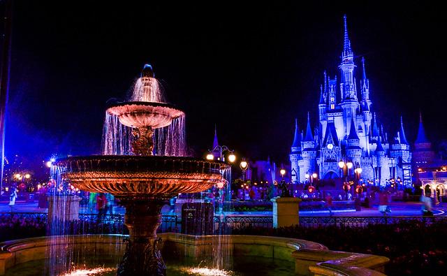 MK fountain castle
