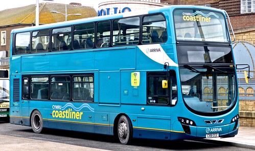 CX61 CCZ 'Arriva Buses Wales' 4480 VDL SB300 / Wright Gemini Eclipse 2. on Dennis Basford's 'railsroadsrunways.blogspot.co.uk'