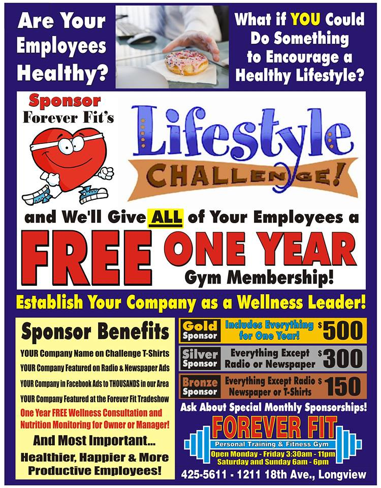 Lifestyle sponsor info