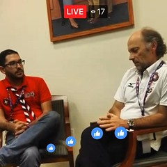 João Armando G. - World Scout Committee, Chairperson. Live interview via Fb with #ScoutsCostaRica