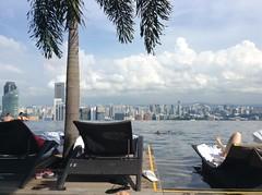 SkyPark Infinity Pool Marina Bay Sands Hotel Singapore 2016