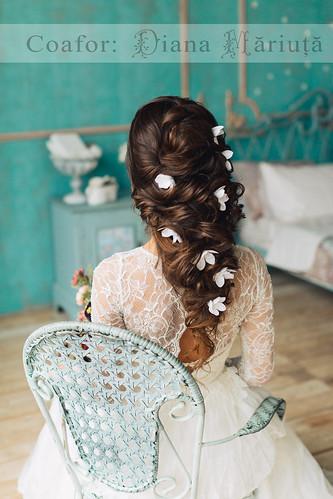 Coafuri perfecte pentru mirese deosebite de la Diana Măriuţă > Foto din galeria `Principala`